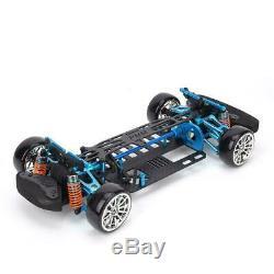 Wheelbase Frame Carbon Fiber Chassis Bumper for TT01 1/10 RC Car Model