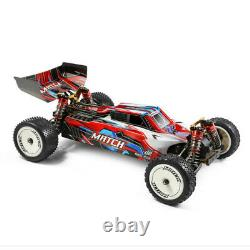 Wltoys 104001 1/10 2.4G 4WD 45km/h RC Car Metal Chassis Off-Road+Brushless Motor