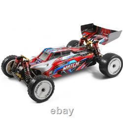 Wltoys 104001 RTR RC Cars 1/10 2.4G 4WD 45km/h Metal Chassis Off-Road RC Trucks