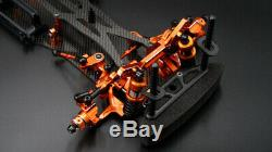 Yeah Racing Alum Carbon Chassis Roller SPT2-D RWD Drift Conversion Car Kit