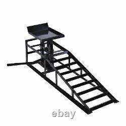 10,000lbs Ramp Lift Hydraulic Lift Repair Frame Garage Auto Car Truck Heavy Duty