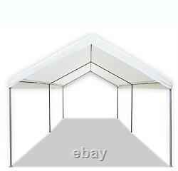 10' X 20' Canopy Heavy Duty Portable Tent Carport Garage Car Steel Frame Shelter
