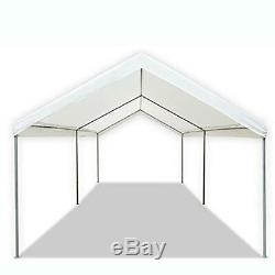 10 X 20 Heavy Duty Portable Canopy Garage Tente Auvent Abri De Voiture Cadre En Acier