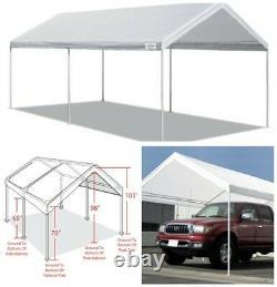 10' X 20' Portable Canopy Garage Tente Carport Car Shelter Cadre En Acier