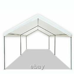 10' X 20' Portable Heavy Duty Canopy Garage Tent Carport Carport Car Shelter Steel Frame