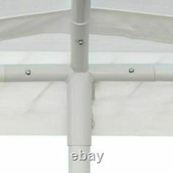 10' X 20' Portable Heavy Duty Garage Tent Canopy Carport Carport Car Shelter Steel Frame