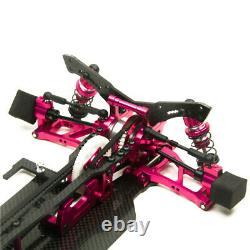 110 Échelle Alliage Et Carbon Sakura Xis Rc Car Frame Kit De Carrosserie Avec 4 Roues