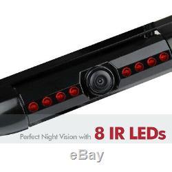 12v Voiture Vue Arrière Caméra De Recul 8 Vision Nocturne Ir Us License Plate Frame Cmos