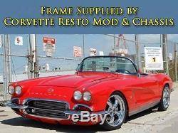 1953-1962 Voiture De Projet De Châssis À Roulettes Corvette