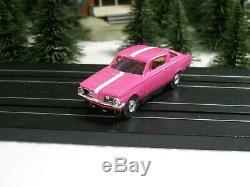 1964-65 Plymouth Barracuda Nos Châssis Aurora Tjet Très Rare Gehrig Studio
