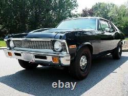 1972 Chevrolet Nova Big Block 4-speed Frame Off Brand New Build