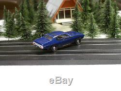 1973-74 Plymouth Road Runner Nos Châssis Aurora Tjet Gehrig Studio Très Rare