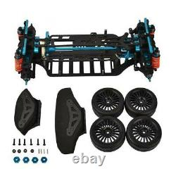 1/10 4wd Touring Car Frame Kit Pour Tamiya M9h5 Tt01 Alliage Et Carbon Shaft Drive