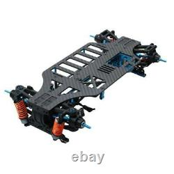 1/10 4wd Touring Car Frame Kit Pour Tamiya M9h5 Tt01 Alloy And Carbon Shaft Drive