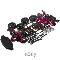 1/10 Alliage & Carbon Sakura D4 Rwd Drift Racing Body Kit De Voiture # Cadre Kit-d4rwd