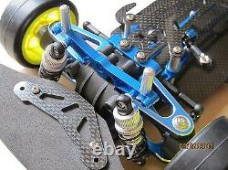 1/10 Alliage & Carbone Tt01 Tt01e Shaft Drive 4wd Racing Car Chassis Frame Kit