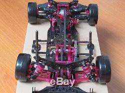 1/10 Alliage Et Carbone Sakura D4 Awd Kit Corps Du Châssis De La Voiture De Course Ep # Kit-d4awd
