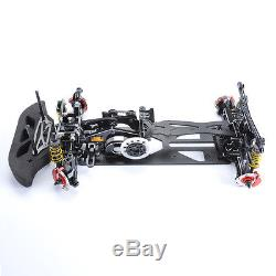 1/10 Alliage Et Fibre De Carbone G4 4wd Drift Rc Racing Modèle De Châssis De Châssis De Voiture