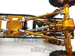 1/10 Axial Scx10 D90 Châssis De Cadre D'alliage D'aluminium De Voiture De Commande Numérique Par Ordinateur De Roche Sur Chenilles