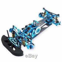 1/10 Rc G4 Alliage De Carbone Et Fibre Drift Kit Frame Voiture Pour Hsp Hpi 4wd Drift Car
