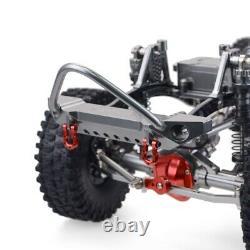 1/10 Rock Crawler Chasis Cnc Aluminium Alloy Carbon Frame Pour Axial Scx10 Rc Car