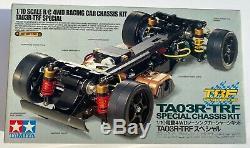 1/10 Tamiya Ta03-r Trf De Voiture Nip Touring Spécial Châssis Kit Rare