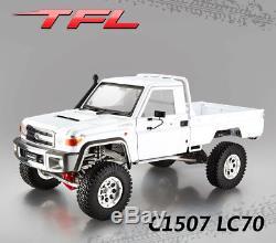 1/10 Tfl Rock Crawler Kit C1507 Lc70 Rc Châssis De Voiture En Métal Modèle Toyota Shell