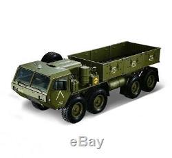 1/12 88 Rc Us Camion Militaire Châssis En Métal Modèle De Voiture Esc Servo Moteur P801 Radio