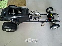 1/4 Scale Rc Car Project Châssis Roulant En Aluminium Idéal Pour Conley609