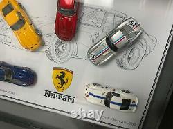 1/64 Ferrari 250 Gto De 1962 Par My64 Model 5 Ensemble De Voiture Cadre Limité À 5 Pièces