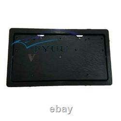 1 Pcs Flip Flipper Retractable Car License Plate Frame Blinds Remote Control Kit