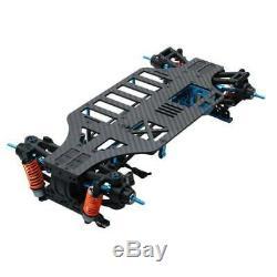 1 Set 1/10 4rm Touring Frame Kit Pour Voiture Partie M9h5 En Alliage Et Cardan Carbone