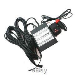 2pcs Cadre Électrique De Plaque D'immatriculation De Voiture De Voiture Électrique Cachée Bascule Sur Le Type USA Avec Télécommande