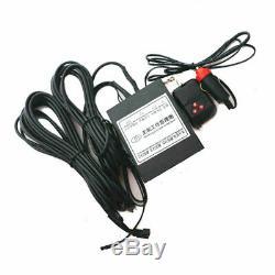 2pcs Électrique Caché Plaque D'immatriculation Voiture Cadre Flip Turn Over USA Type Avec Télécommande