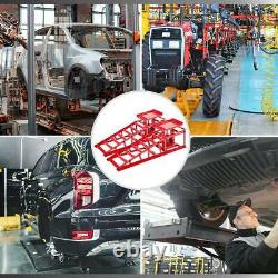 2pcs Lift Frame Repair Auto Service Heavy Car Lifts Duty Ramps Hydraulic 11000lb