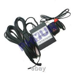 2x Hidden Flip Plaque De Licence De Voiture Électrique Tour De Cadre Avec Wireless Remote USA