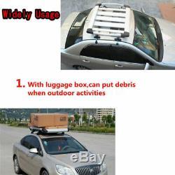 2x Support Universel De Support De Porte-bagages Suv 3 De Toit Universel De Voiture De Toit En Barre Transversale