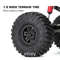 310mm Wheelbase Rock Buggy Cassis Avec Tube Roll Cage Pour 1/10 Rc Crawler Car