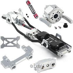 313mm Radstand Rahmen Châssis Für 110 Rc Auto Axial Scx10 II 90046 Crawler Car