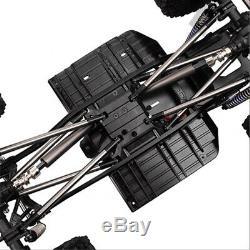313mm Wb Rc Crawler Cadre Voiture Châssis Avec Roue Pour 1/10 Axiale Scx10 II 90046