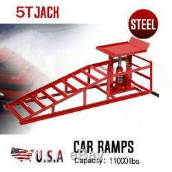 5t Auto Réparation Camion Service Robuste Châssis Ascenseurs Hydrauliques Rampes Heavy Lift USA