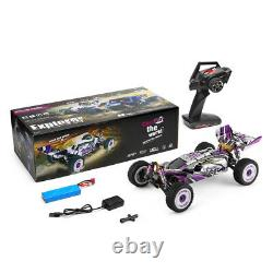 60km/h Wltoys 124019 Rtr 1/12 2.4g 4wd Metal Chassis Rc Car 550 Brushed Motor Us