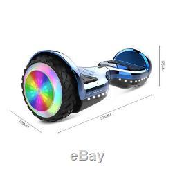 6,5 Pouces Balance Électrique Scooter Cadre En Aluminium De Voiture Deux Roues 2.0ah 36v 72wh