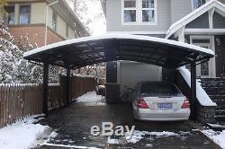 Abri D'auto, Auvent, Abri De Voiture, Garage Avec Cadre En Alliage D'aluminium Et Feuille De Pc