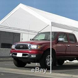 Abri De Parking Couvert Tente Abri Voiture Bateau Camion Garage Stockage Ombre Métal Grand