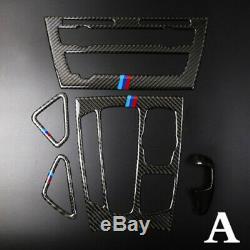 Accessoires Voiture En Fibre De Carbone Réel Kit Pour Cadre Garniture Bmw X5 F15 X6 F16 2014-2018