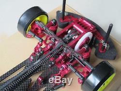 Alliage & Carbon Sakura D3 Cs 1/10 4wd Drift Racing Body Frame Voiture Et Avant Une Façon