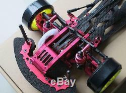 Alliage & Carbon Sakura D3 Cs 1/10 4wd Drift Racing Car Kit Cadre Withfront D'une Manière