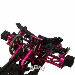 Alliage & Carbon Sakura D4 Awd Ep Drift Racing Car Kit Cadre Rahmen Avec Roue Rad
