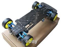 Alliage & Carbon Tt01 Tt01e Shaft Drive 1/10 4wd Touring Car Frame Kit